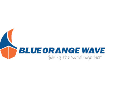 Blue Orange Wave image